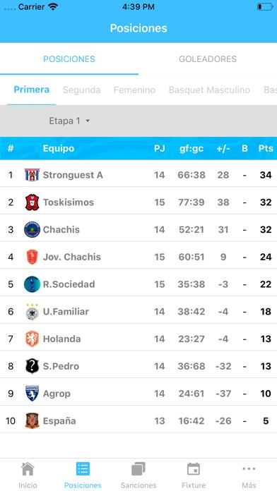 Liga San Pedro del Valle screenshot 4