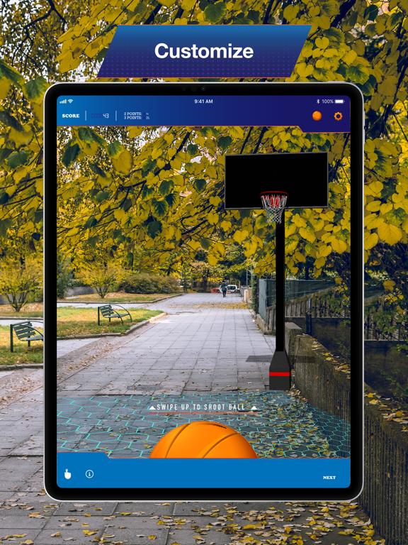 Hoops AR BasketBall Hard Mode screenshot 8