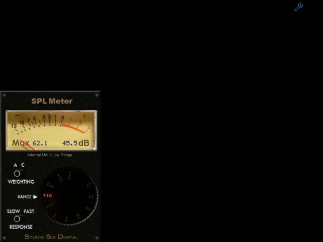 SPL Meter Screenshot
