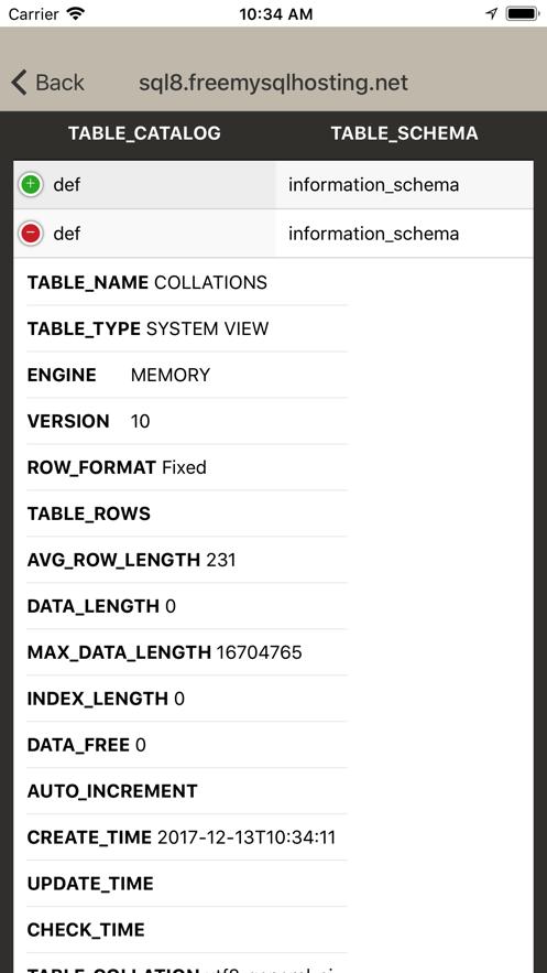 MsSQL,MySQL,Oracle & Postgre App 截图