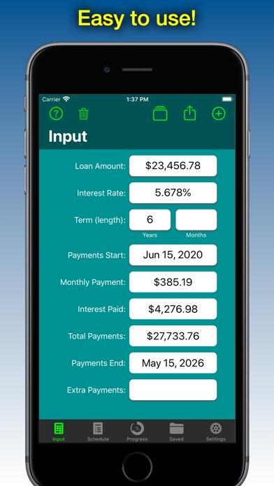 Loan Calculator - Loan2Me screenshot one