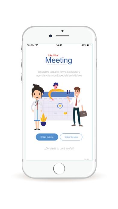 PreMed Meeting screenshot #1