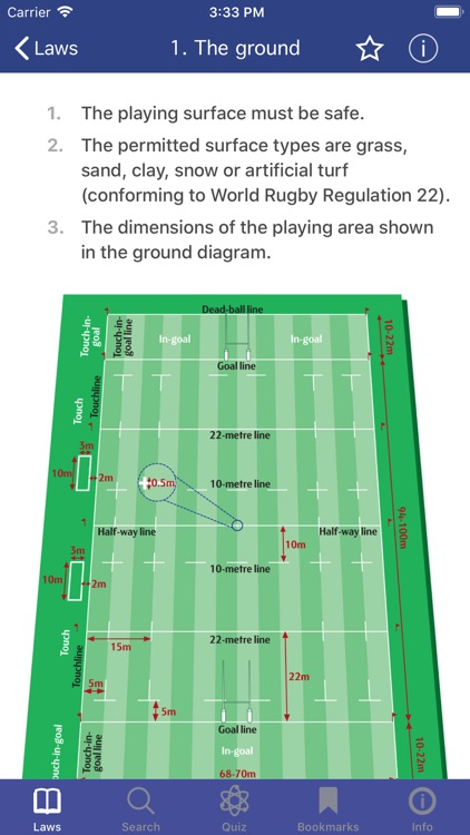 World Rugby Laws of Rugby screenshot-3