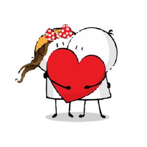 Cutest Love Making Sticker Emo - Stickers app