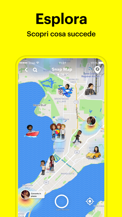 Screenshot for Snapchat in Italy App Store