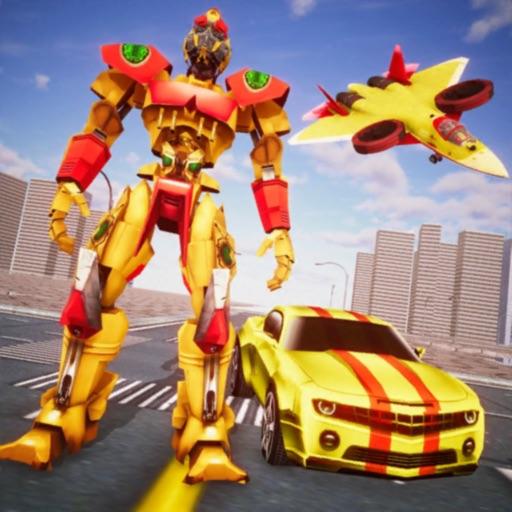 لعبة روبوت سيارة جت متعددة