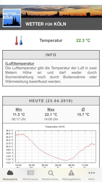 Wetter für Köln screenshot-3