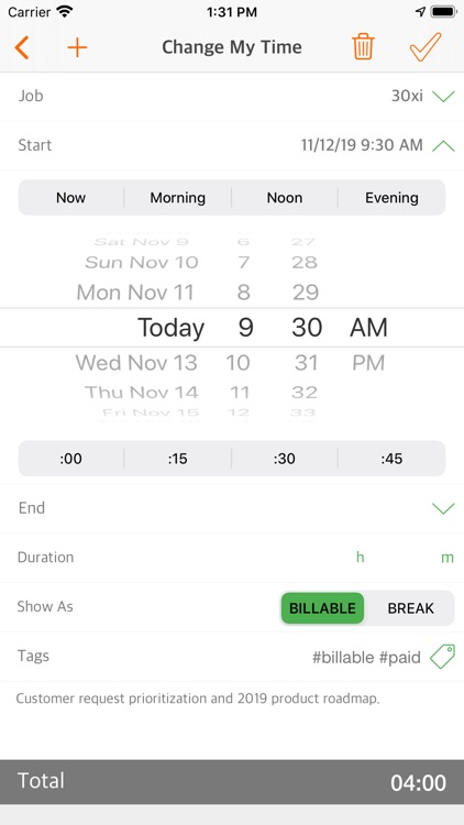 Easy Hours Lite screenshot-6