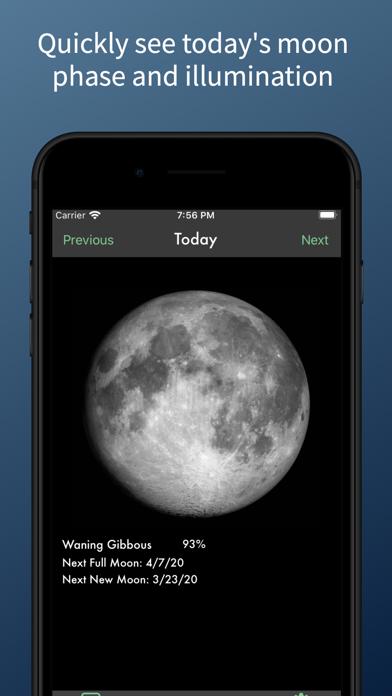 SimpleMoon - Moon Phaseのおすすめ画像1