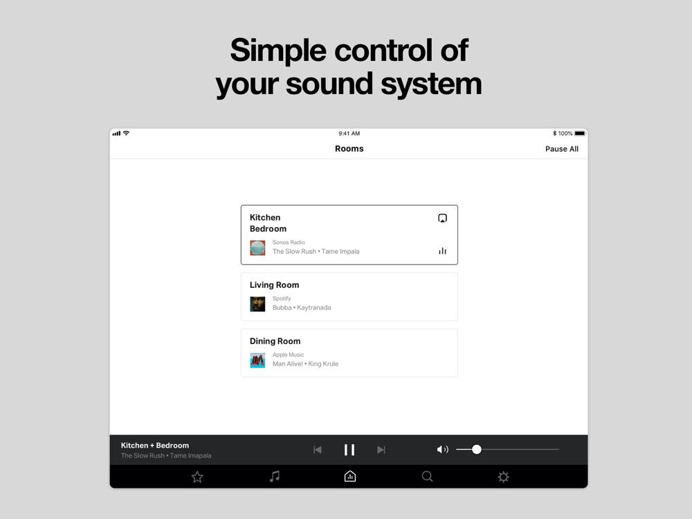 Sonos S1 Controller App