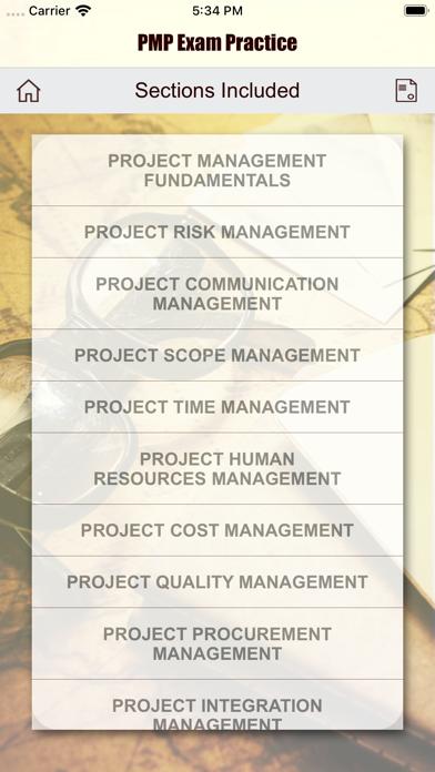 PMP Revision Aid screenshot 7