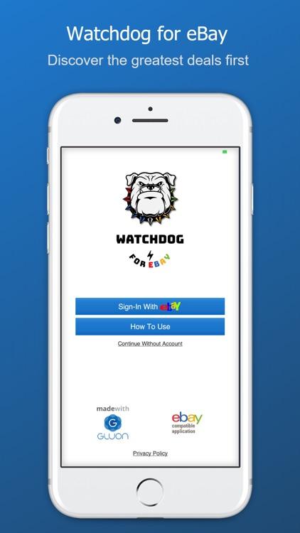 Watchdog for eBay