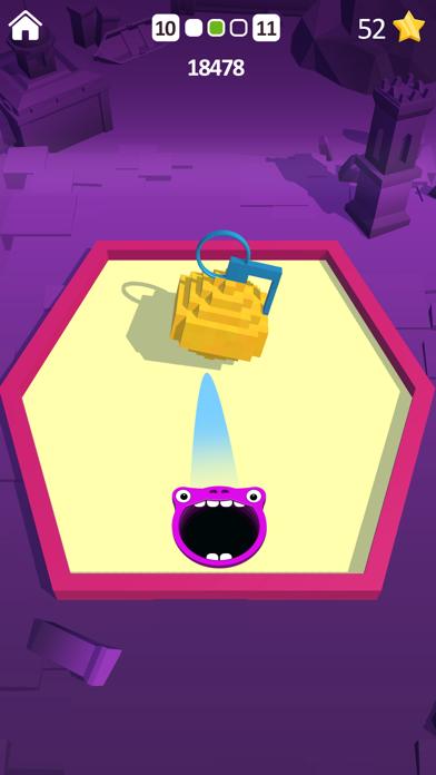Shooting Hole - Collect Cubes screenshot 1
