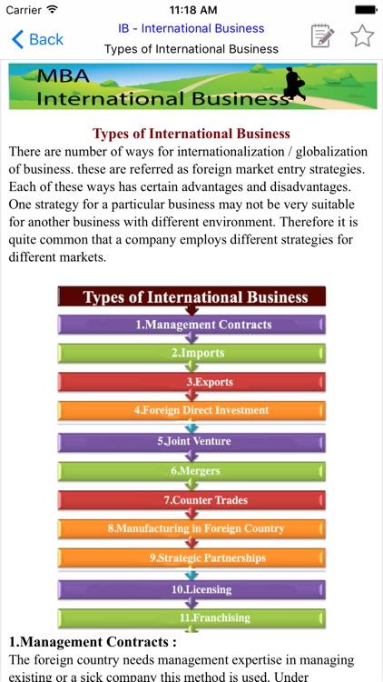 MBA IB- International Business screenshot-3