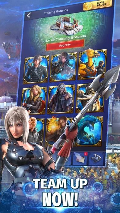 Final Fantasy XV: A New Empire app image