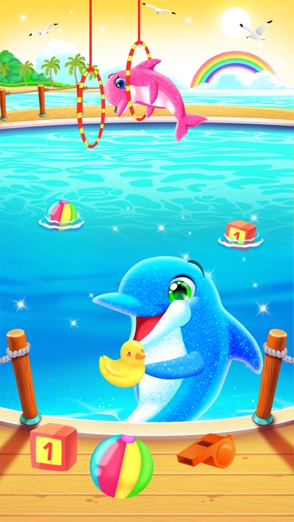 My Baby Twin Dolphins screenshot-5