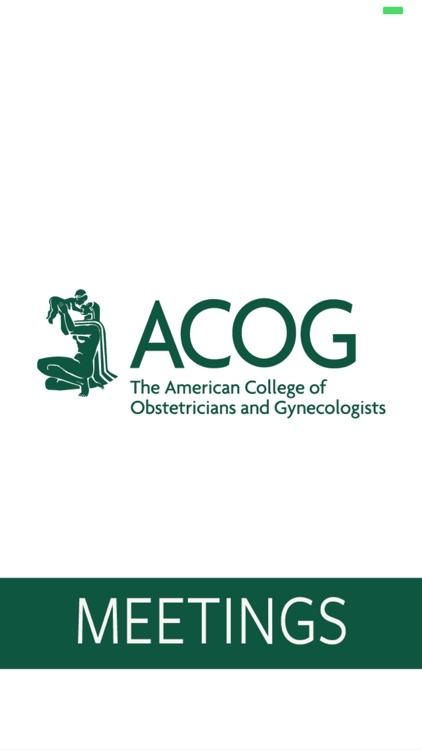 ACOG Annual Meetings