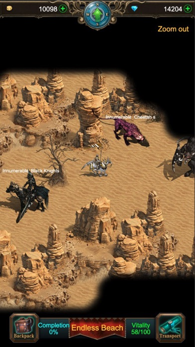 Screen Shot War of Heroes: Origin of Chaos 2