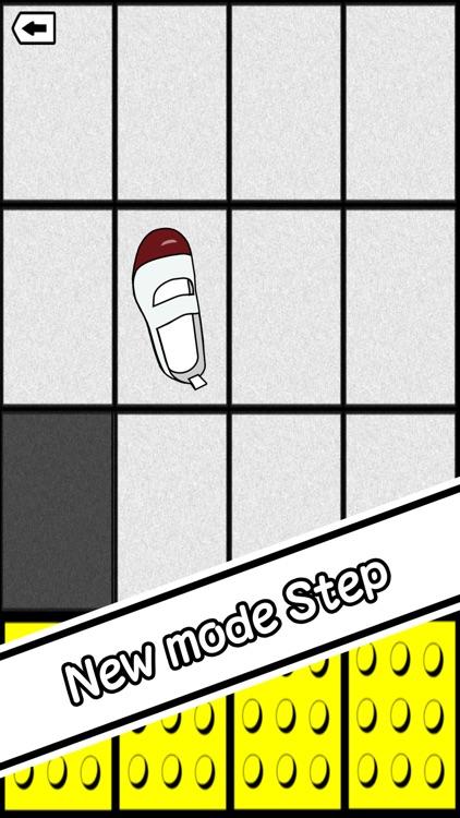 Don't step the white tile