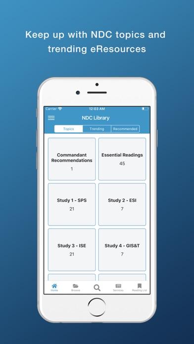 NDC Library screenshot 2