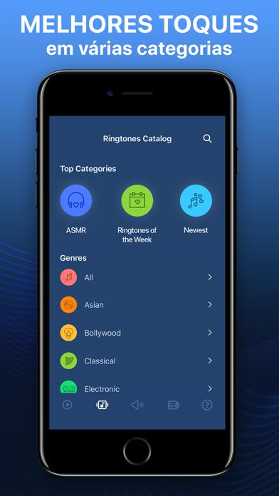Screenshot for Toques e papéis de parede in Brazil App Store
