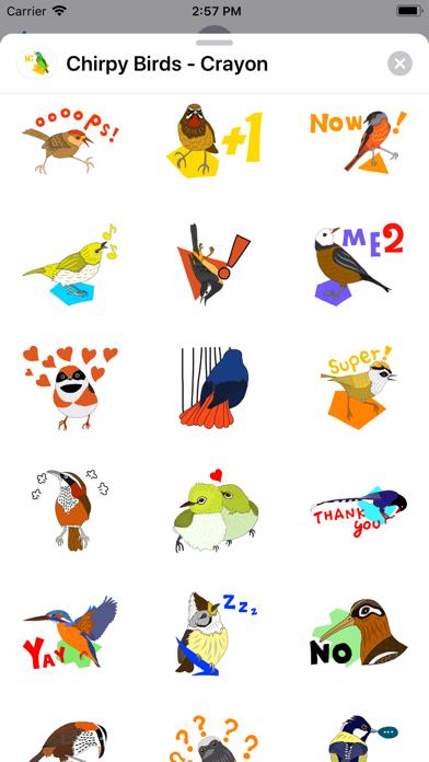 Chirpy Birds - Crayon screenshot 2