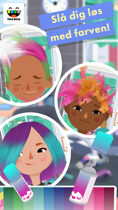 Screenshot for Toca Hair Salon 3 in Denmark App Store