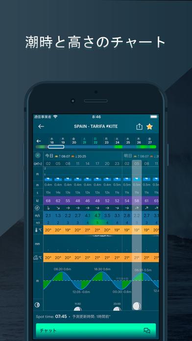 WINDY: 天気予報 - 風予報、風速 ScreenShot4