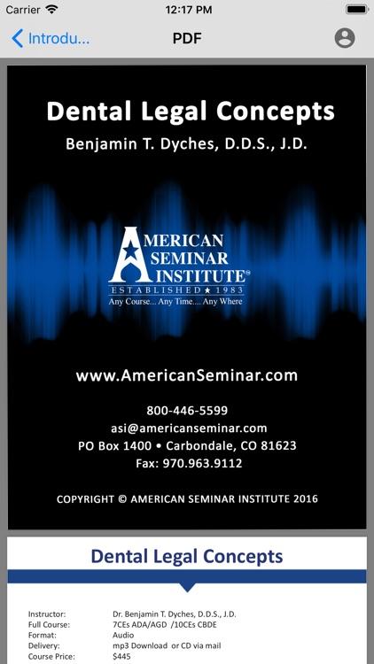 American Seminar Institute screenshot-3