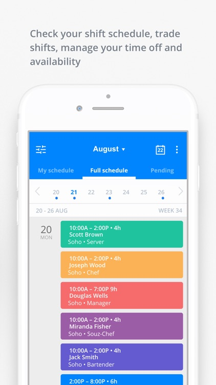 Sling: Employee Scheduling App screenshot-2