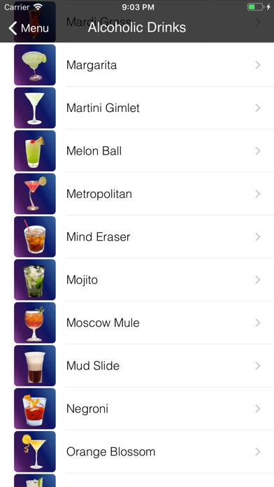 Bebidas & DrinksScreenshot von 2