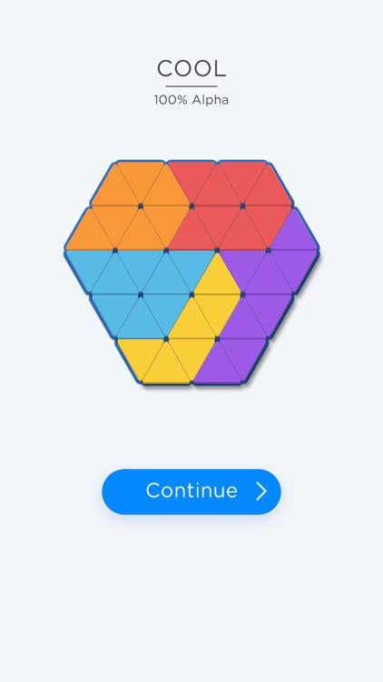Triangle Tangram Block Puzzle screenshot-4