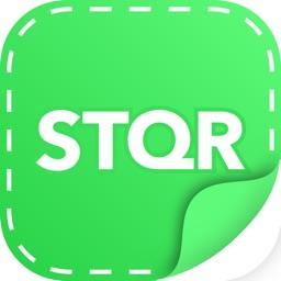 STQR personal sticker maker