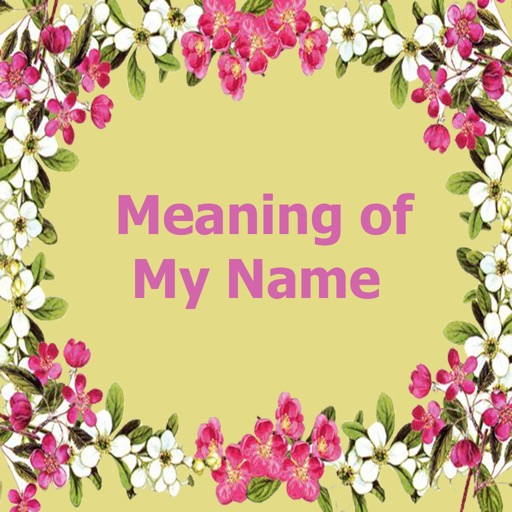 Meaning of My Name