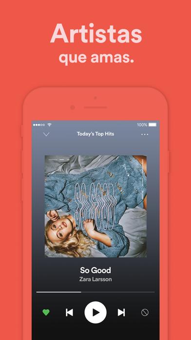 Screenshot for Spotify: Música y podcasts in Ecuador App Store