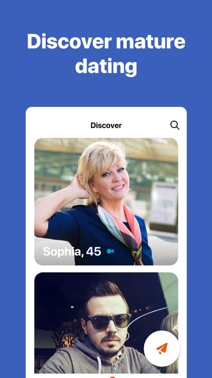 DateMyAge: Date Mature Singles screenshot-0