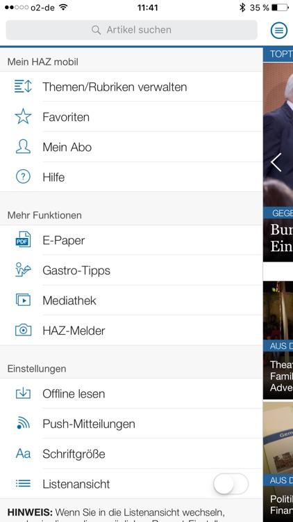 HAZ mobil screenshot-4