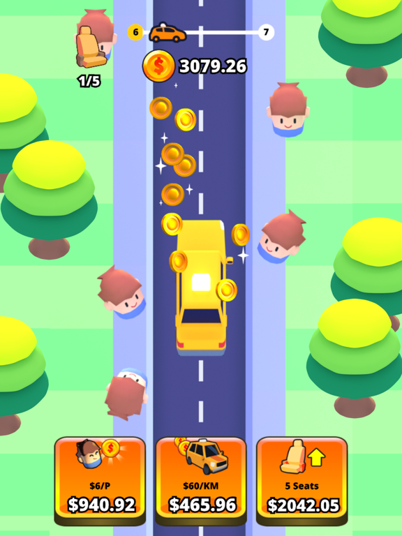 Idle Taxi screenshot 6