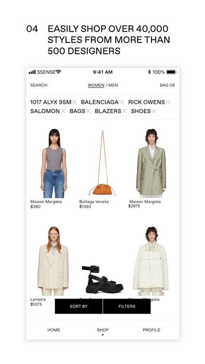SSENSE: Shop Designer Fashion screenshot-3
