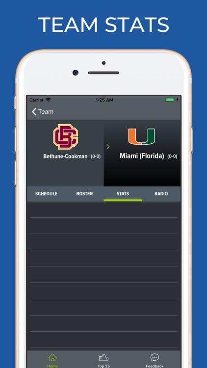 Miami Hurricanes Football screenshot-3