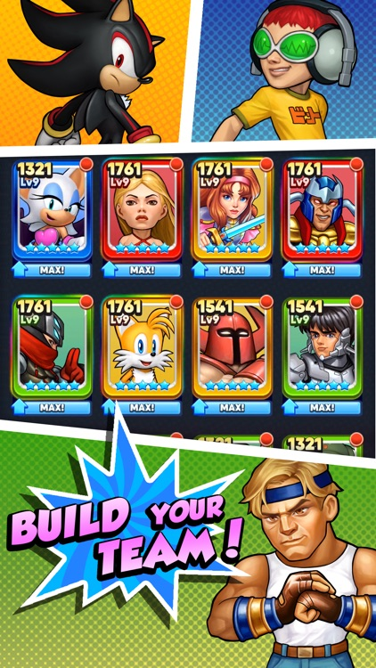 SEGA Heroes: Puzzle RPG Game screenshot-4