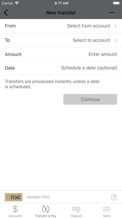 First Utah Bank Mobile Banking screenshot-4