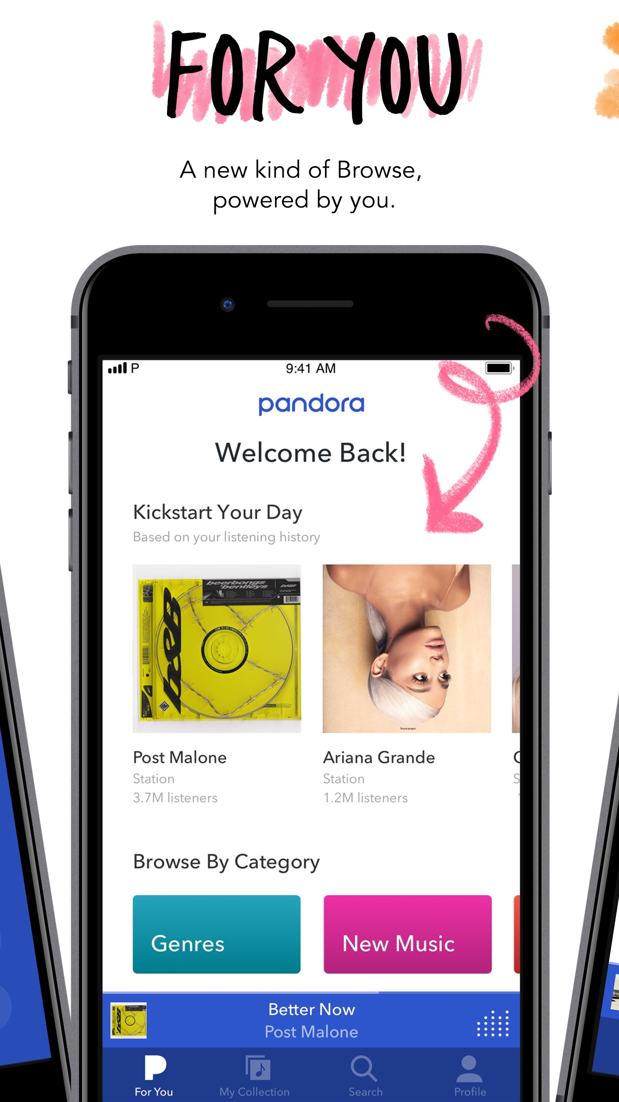 Pandora: Music & Podcasts Screenshot