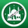 Muslimische Gebetszeiten & Qib