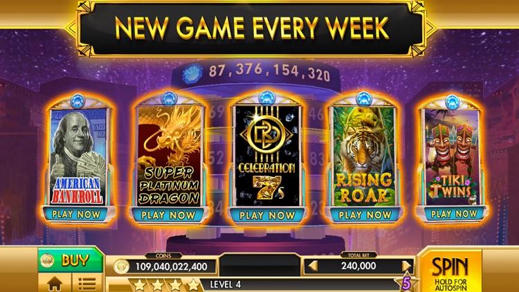 SLOTS - Black Diamond Casino screenshot-4