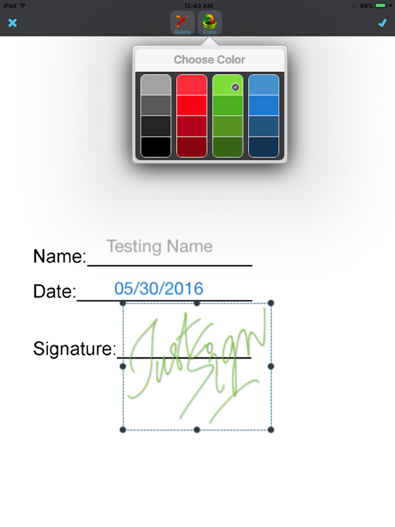 JustSign - eSign documents Screenshots