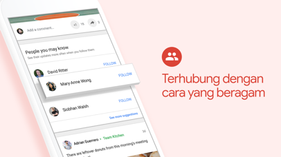 Screenshot for Google+ untuk G Suite in Indonesia App Store