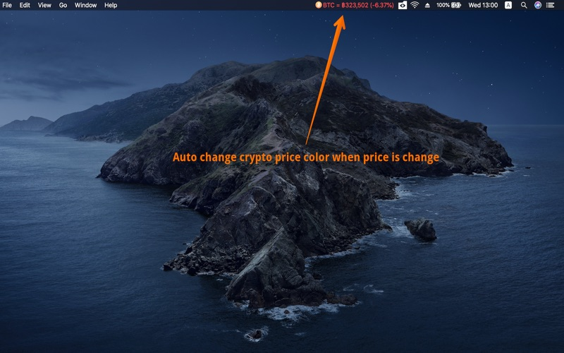 Coin Price TH - ราคาบิทคอยน์ for Mac