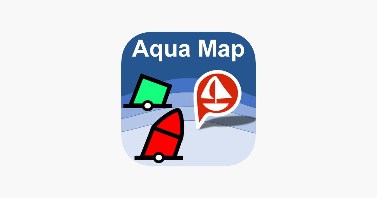 Aqua Map: Marine & Lake maps on the App Store