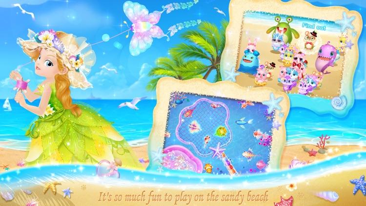 Princess Libby's Beach Day screenshot-4